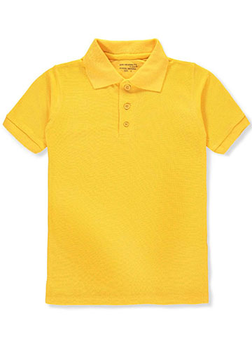 Kids University Boys' S/S Pique Polo - CookiesKids.com