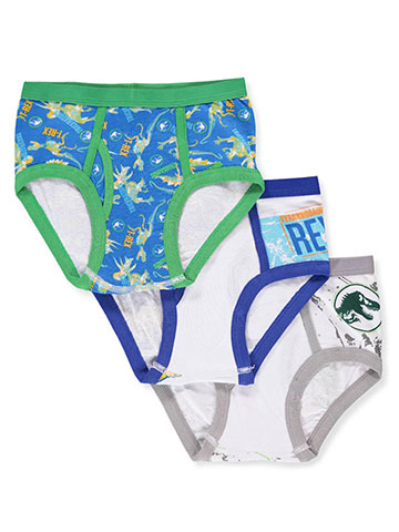 Jurassic World Boys' 3-Pack Briefs - CookiesKids.com