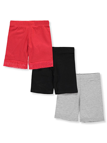 Marilyn Taylor Girls' 3-Pack Bike Shorts - CookiesKids.com
