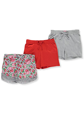Pink Dot Girls' 3-Pack Shorts - CookiesKids.com
