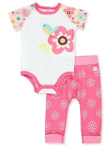 Boppy Baby Girls' 2-Piece Leggings Set Outfit - CookiesKids.com
