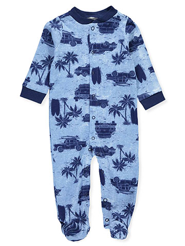 Mini B. Baby Boys' Footed Coverall - CookiesKids.com