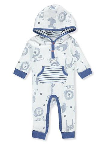Boppy Baby Boys' Hooded Coverall - CookiesKids.com
