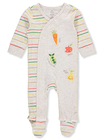 Boppy Unisex Baby Footed Coverall - CookiesKids.com