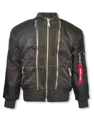 Swiss Cross Boys' Flight Jacket - CookiesKids.com