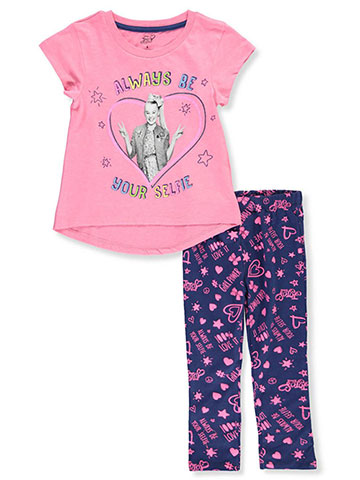 90cb9fed017 Jojo Siwa Girls  2-Piece Leggings Set Outfit - CookiesKids.com