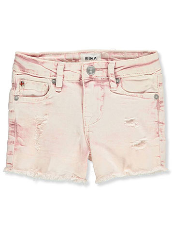 Hudson Baby Girls' Denim Shorts - CookiesKids.com