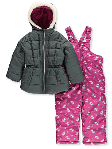 Pink Platinum Girls' 2-Piece Snowsuit - CookiesKids.com