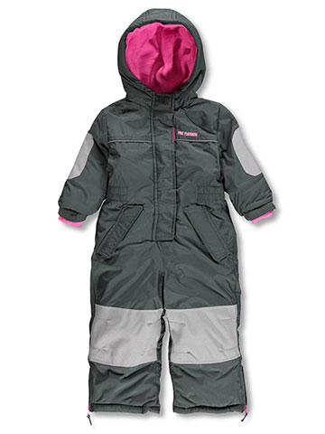 Pink Platinum Baby Girls' 1-Piece Snowsuit - CookiesKids.com