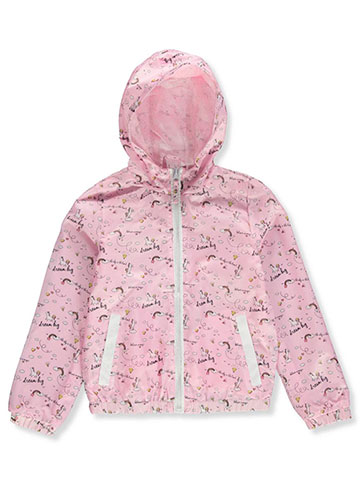 Pink Platinum Girls' Rain Jacket - CookiesKids.com