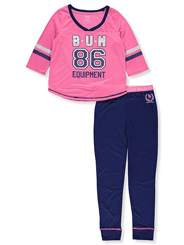 BUM Equipment Girls' 2-Piece Pajamas - CookiesKids.com