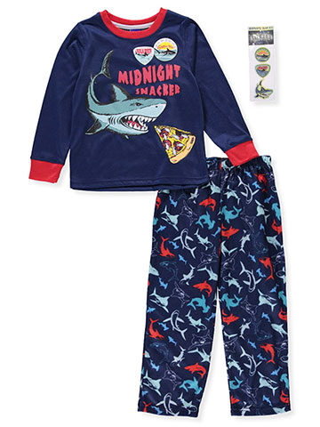 Boys Only Boys' 2-Piece Pajama Set with Stickers - CookiesKids.com
