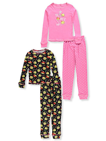 Rene Rofe Girls' 4-Piece Mix-And-Match Sleep Set - CookiesKids.com