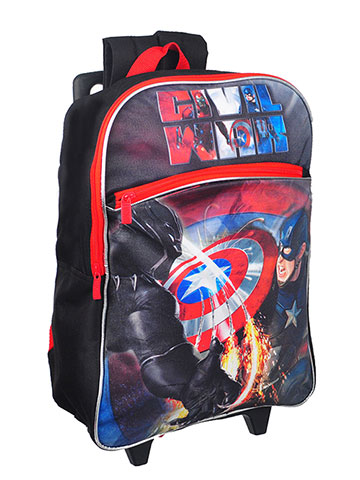 Avengers Rolling Backpack - CookiesKids.com