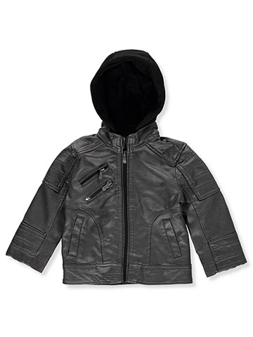 Urban Republic Baby Boys' Hooded Moto Jacket - CookiesKids.com