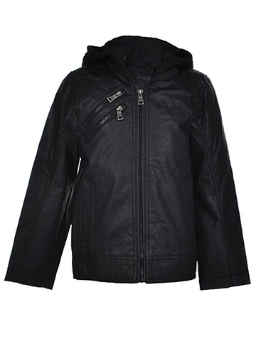 Urban Republic Boys' Hooded Moto Jacket - CookiesKids.com