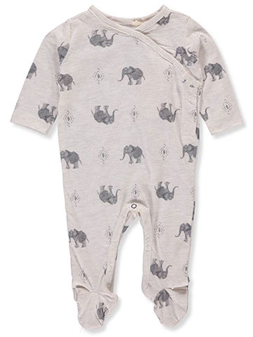 Jessica Simpson Baby Girls' Footed Coverall - CookiesKids.com