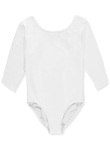 Marilyn Taylor Girls' 3/4 Sleeve Dancewear Leotard - CookiesKids.com