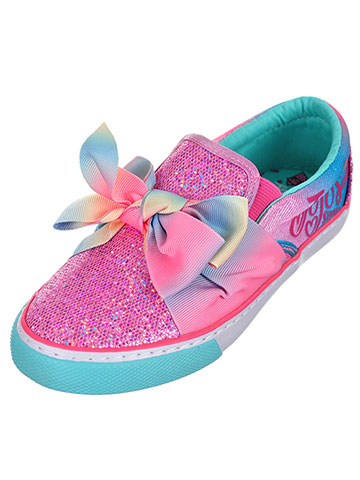 Jojo Siwa Girls' Slip-On Sneakers (Sizes 13 – 4) - CookiesKids.com