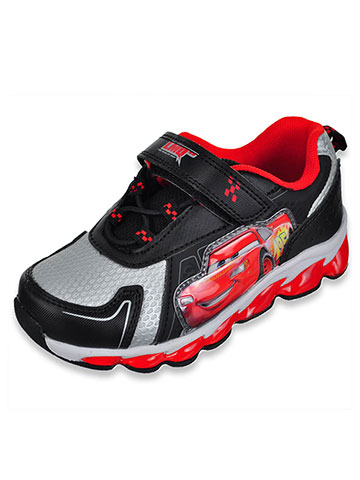 Disney Cars Boys' Light-Up Sneakers (Sizes 6 – 12) - CookiesKids.com