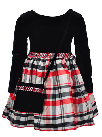 Youngland Girls' Dress with Purse - CookiesKids.com