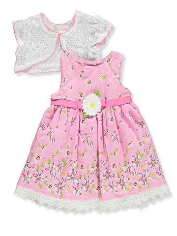 Youngland Baby Girls' Dress with Cardigan - CookiesKids.com