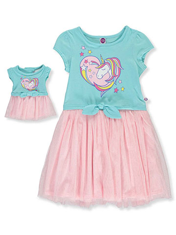 Dollie & Me Girls' Dress with Doll Outfit - CookiesKids.com
