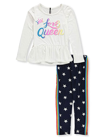 Insta Girl Girls' 2-Piece Leggings Set Outfit - CookiesKids.com