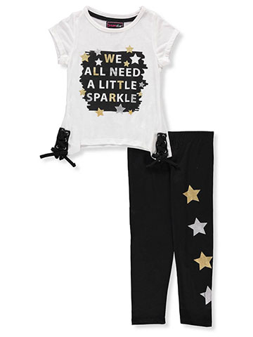 Dream Star Girls' 2-Piece Leggings Set Outfit - CookiesKids.com