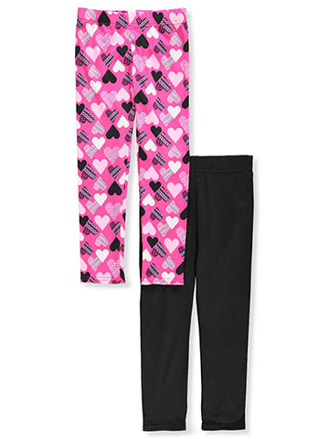 Dream Star Girls' 2-Pack Fleece-Lined Leggings - CookiesKids.com
