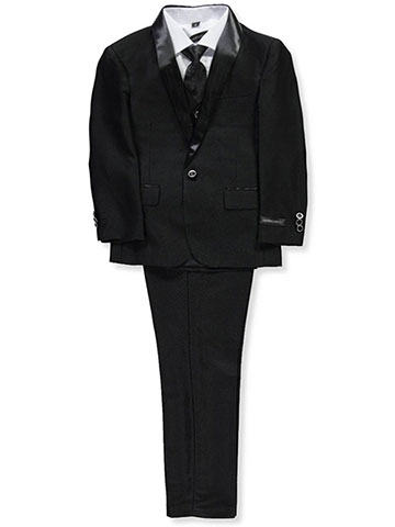 Kids World Boys' 5-Piece Suit Pants Set - CookiesKids.com