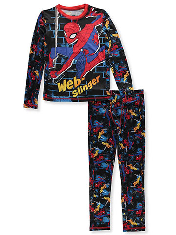 Spider-Man Boys' 2-Piece Long Underwear Set - CookiesKids.com