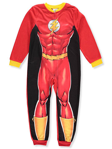 The Flash Boys' 1-Piece Pajamas - CookiesKids.com