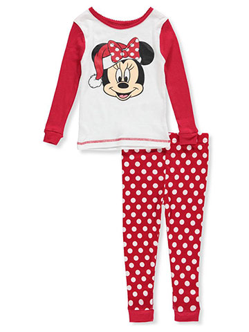 Disney Girls' Minnie Mouse 2-Piece Pajamas - CookiesKids.com