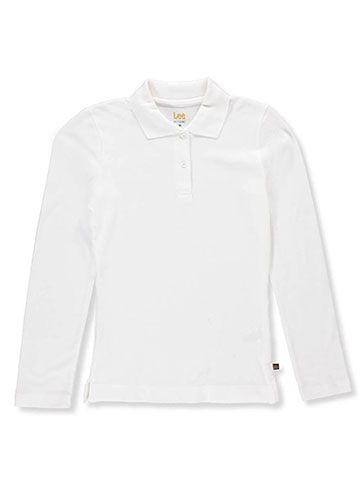 Lee Girls' L/S Pique Polo - CookiesKids.com