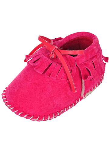 Lam Baby Girls' Moccasin Booties - CookiesKids.com