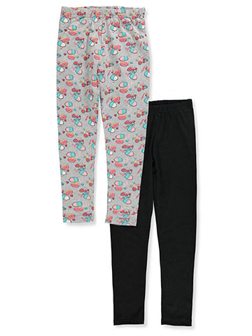 Pink Velvet Girls' 2-Pack Leggings - CookiesKids.com