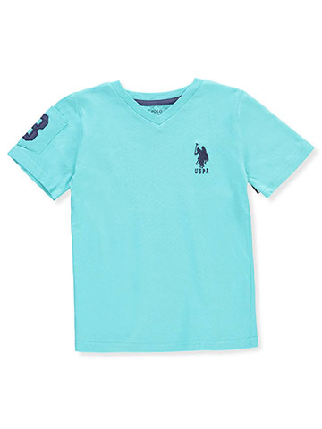 U.S. Polo Assn. Boys' V-Neck T-Shirt - CookiesKids.com