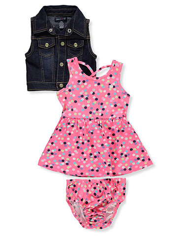 Limited Too Baby Girls' 2-Piece Dress Set with Diaper Cover - CookiesKids.com