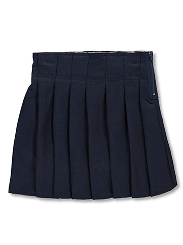 U.S. Polo Assn. Girls' Pleated Scooter Skirt - CookiesKids.com