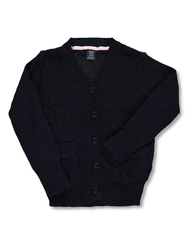U.S. Polo Assn. Girls' Cardigan - CookiesKids.com