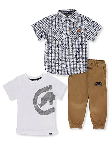 Ecko Unltd. Baby Boys' 3-Piece Pants Set Outfit - CookiesKids.com