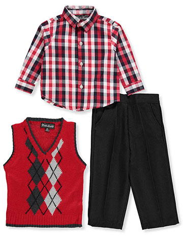 English Laundry Baby Boys' 3-Piece Pants Set Outfit - CookiesKids.com