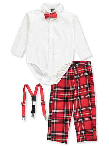 U.S. Polo Assn. Baby Boys' 4-Piece Pants Set Outfit - CookiesKids.com