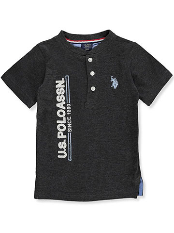 U.S. Polo Assn. Baby Boys' Henley Top - CookiesKids.com