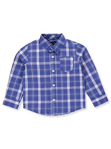 French Toast Baby Boys' L/S Button-Down Shirt - CookiesKids.com