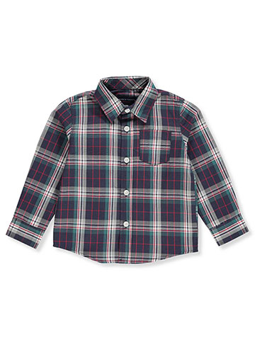 French Toast Baby Boys' LS/ Button-Down Shirt - CookiesKids.com