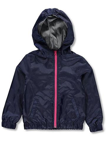French Toast Girls' Hooded Rain Jacket - CookiesKids.com
