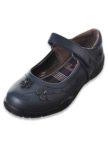 French Toast Girls' Erica Mary Jane Shoes (Sizes 10 – 6) - CookiesKids.com