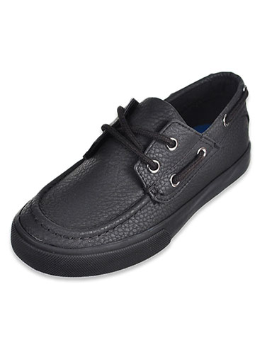 French Toast Boys' Jacob Boat Shoes (Sizes 11 – 3) - CookiesKids.com